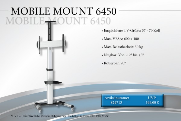 MOBILE MOUNT 6450