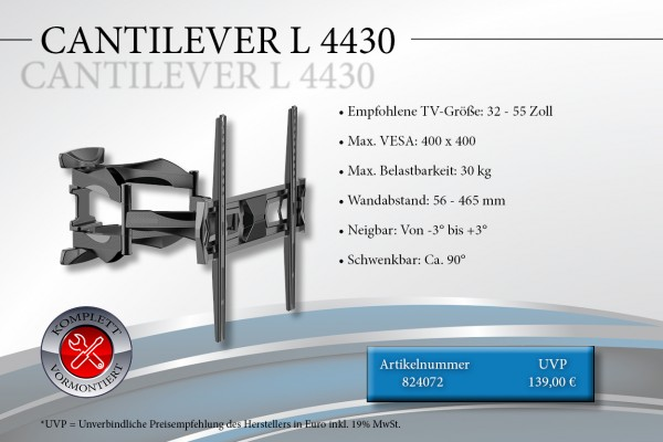 CANTILEVER L 4430