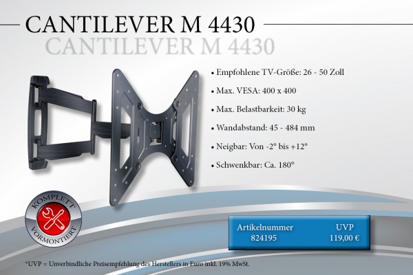 CANTILEVER M 4430